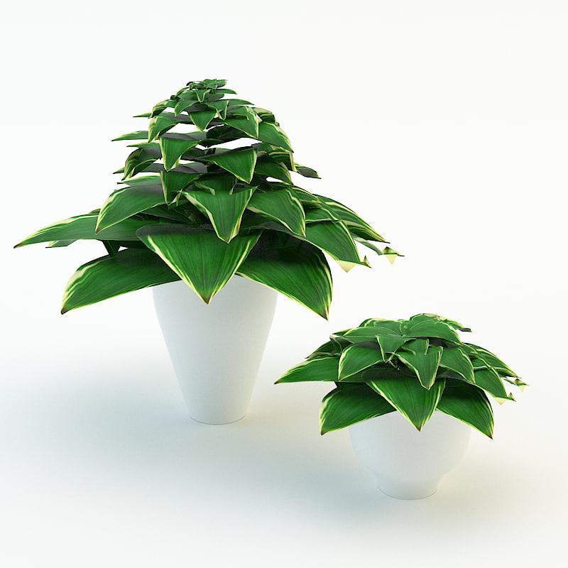 3d forest flowers plants 1