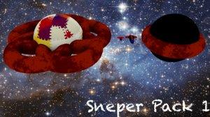 spaceships sneper pack 1 obj free