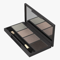 eyeshadow compact 3d max