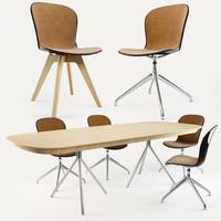boconcept adelaide chair ottawa 3d fbx