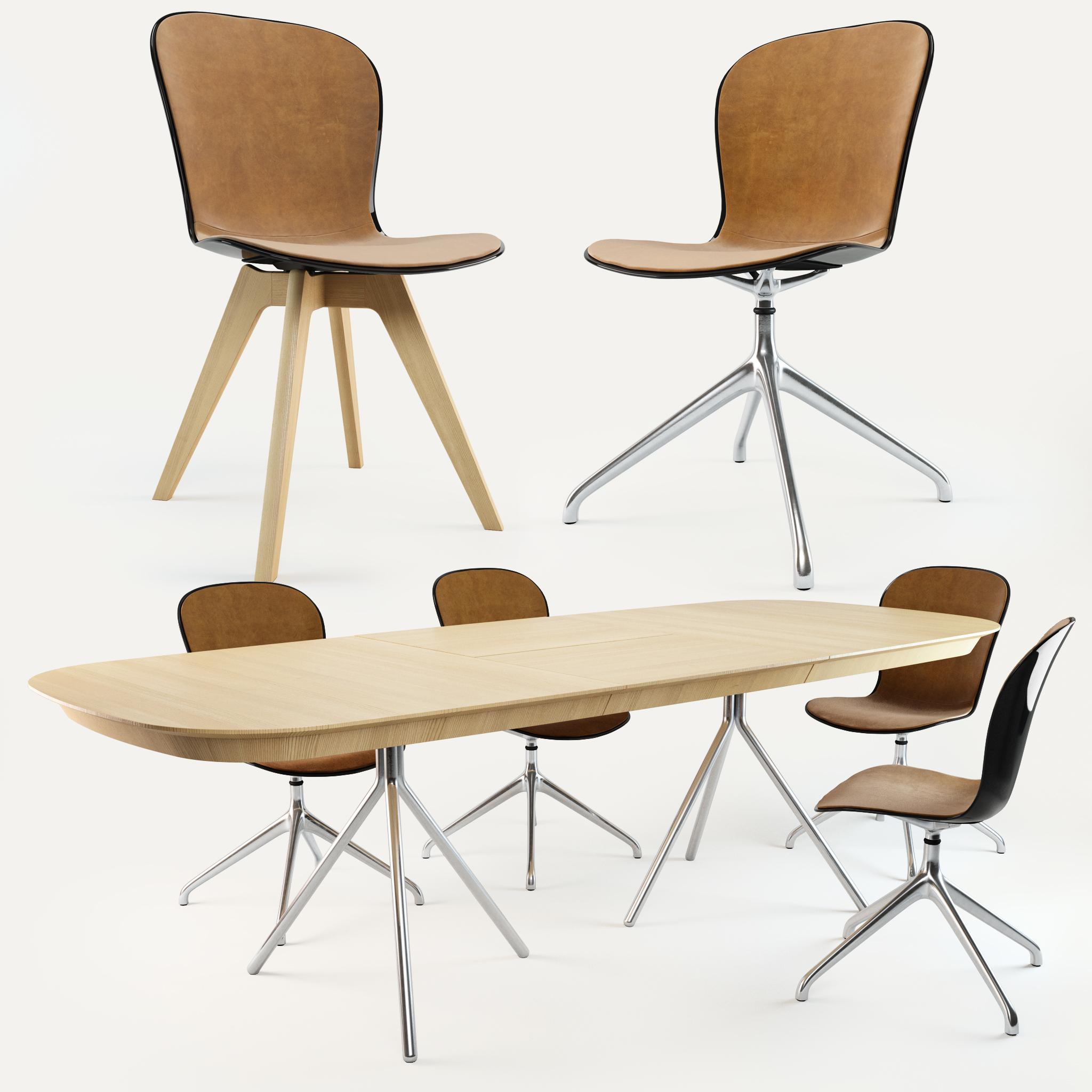Wondrous Boconcept Adelaide Chair Ottawa Table Machost Co Dining Chair Design Ideas Machostcouk