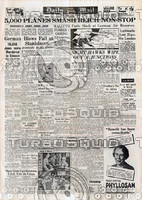 WWII Newspaper: April 20th 1944