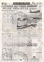 WWII Newspaper: Dec 29th 1944