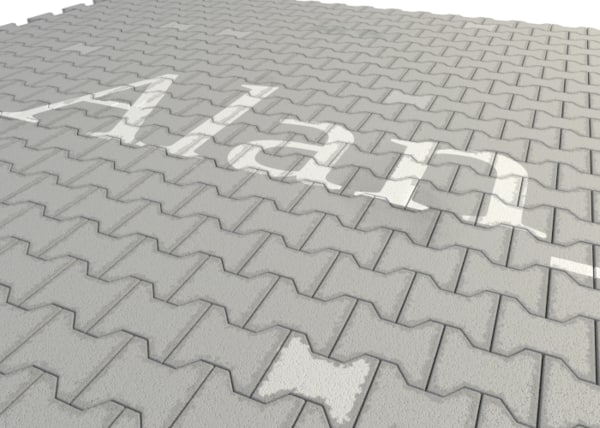 3d model pavement tiles