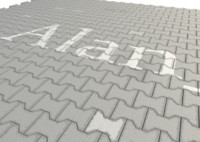 3d model pavement tiles