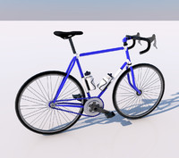 3d model of bycicle