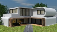 3ds exterior house