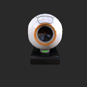 3d model pbr webcam