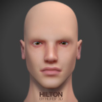 Hilton Nerd Guy head