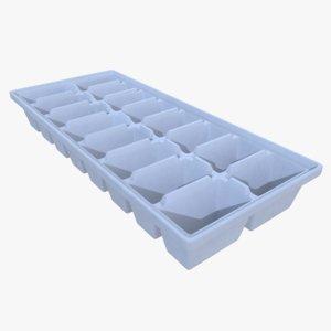 obj ice cube tray
