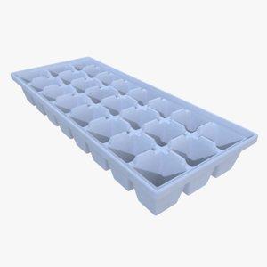3d ice cube tray
