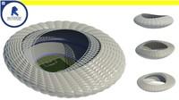 Parametric stadium - Computational design