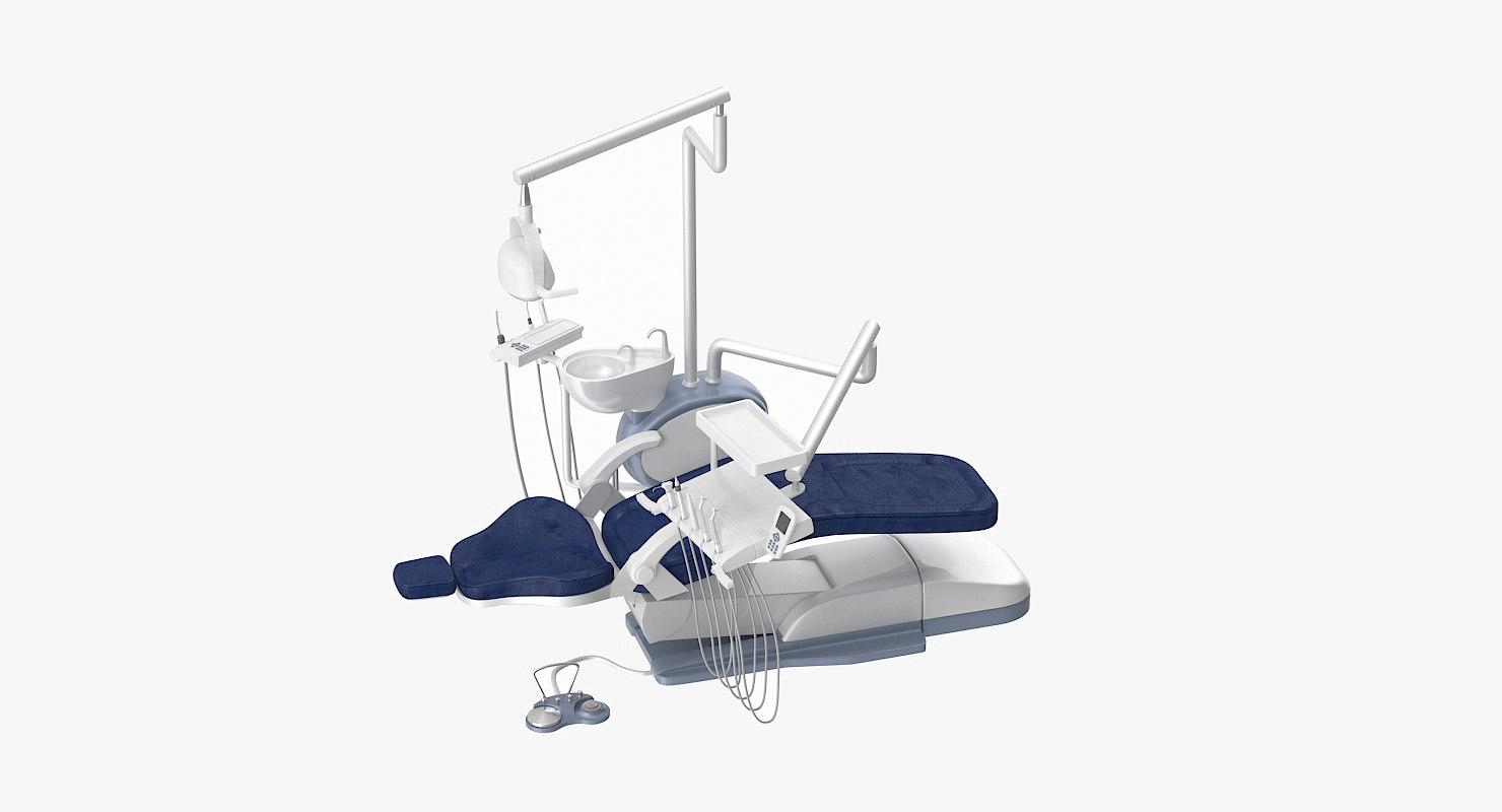 dental chair 3d model