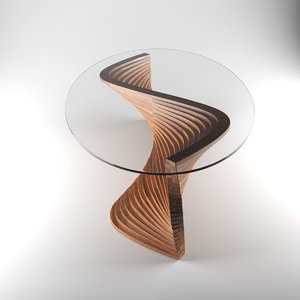 sidewinder coffee table 3d model