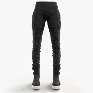 women pants shoes 3d obj