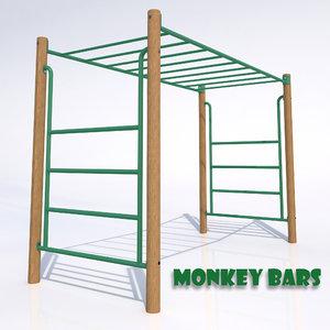 monkey bars 3d 3ds