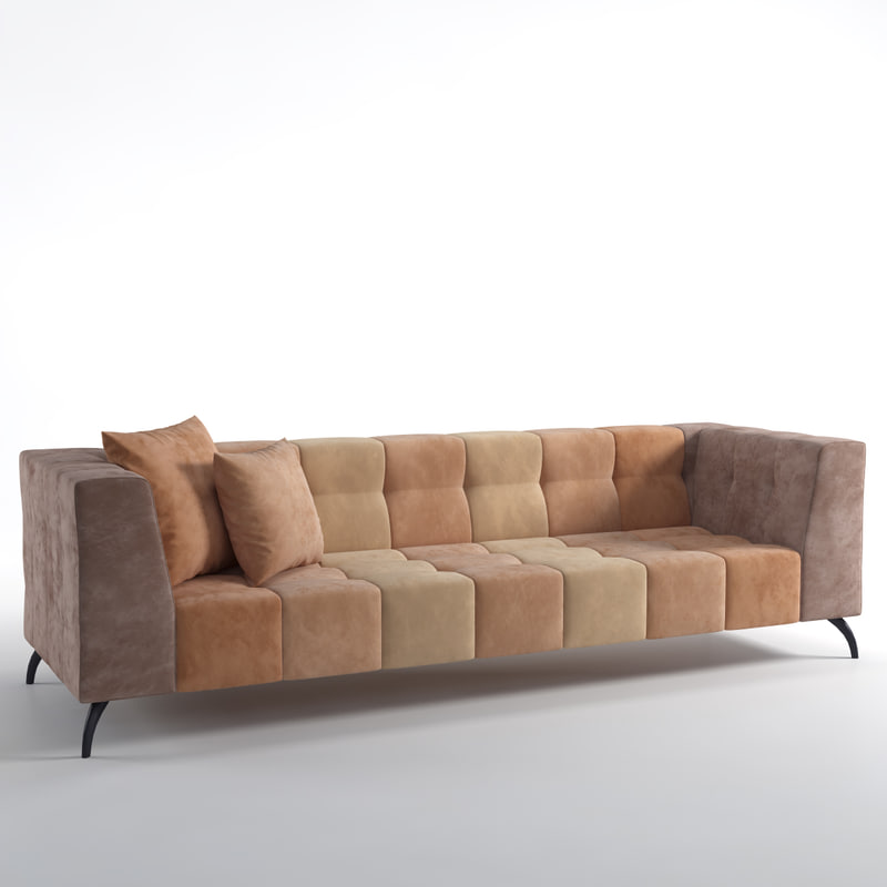 3d model dialma brown db004821 sofa