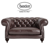 3d model baxter diana chester armchair