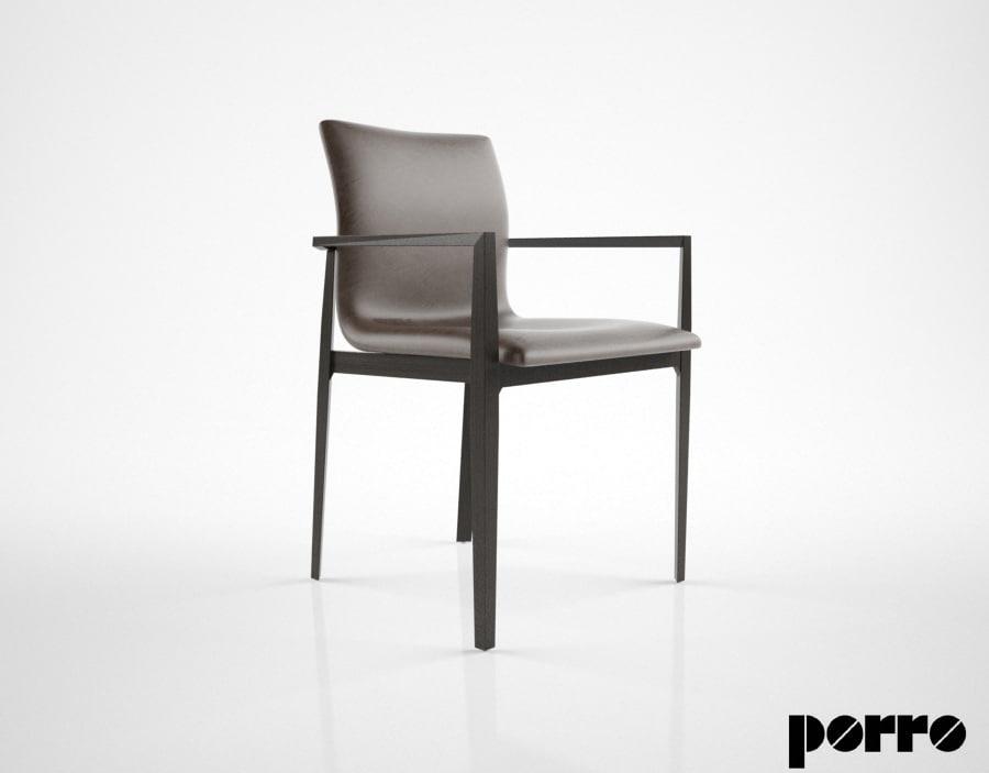 3d model porro garda chair