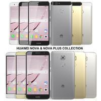 realistic huawei nova 3d max