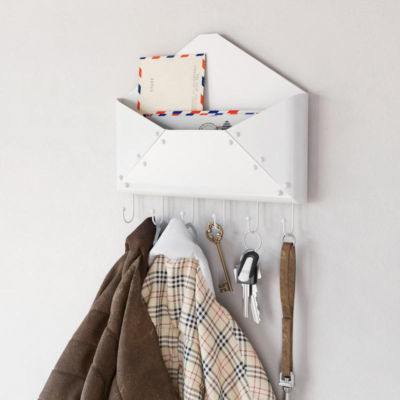 hallway jackets envelopes 3d max