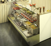 Detailed Deli Bar