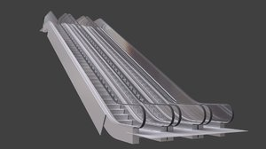 3d escalator bledner cycles