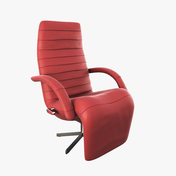 3d armchair jori model