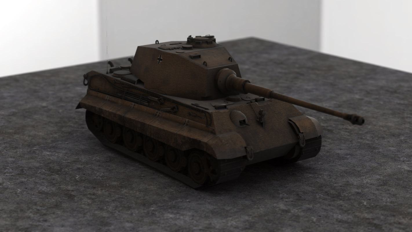 obj world war german tank