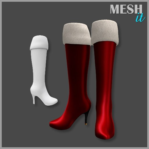 boots christmas obj