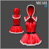 dress hood 3d model