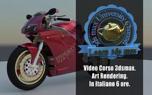 Corso 3ds max Art Rendering Guida Completa Versione MP4