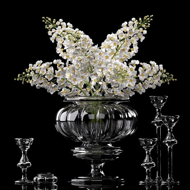 flower vase 3d max