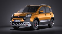 fiat panda cross 3ds
