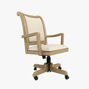 wetherly swivel desk 3d model