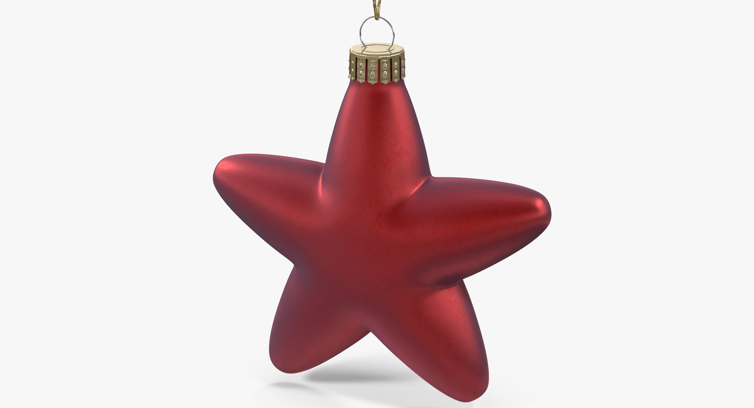 3d christmas toy star