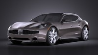 3d model fisker 2015 surf