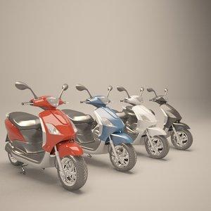 3d best motocycle render model