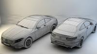 Mercedes Benz S-Class Coupe 3d MODEL
