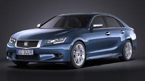 3d model 2015 sedan luxury