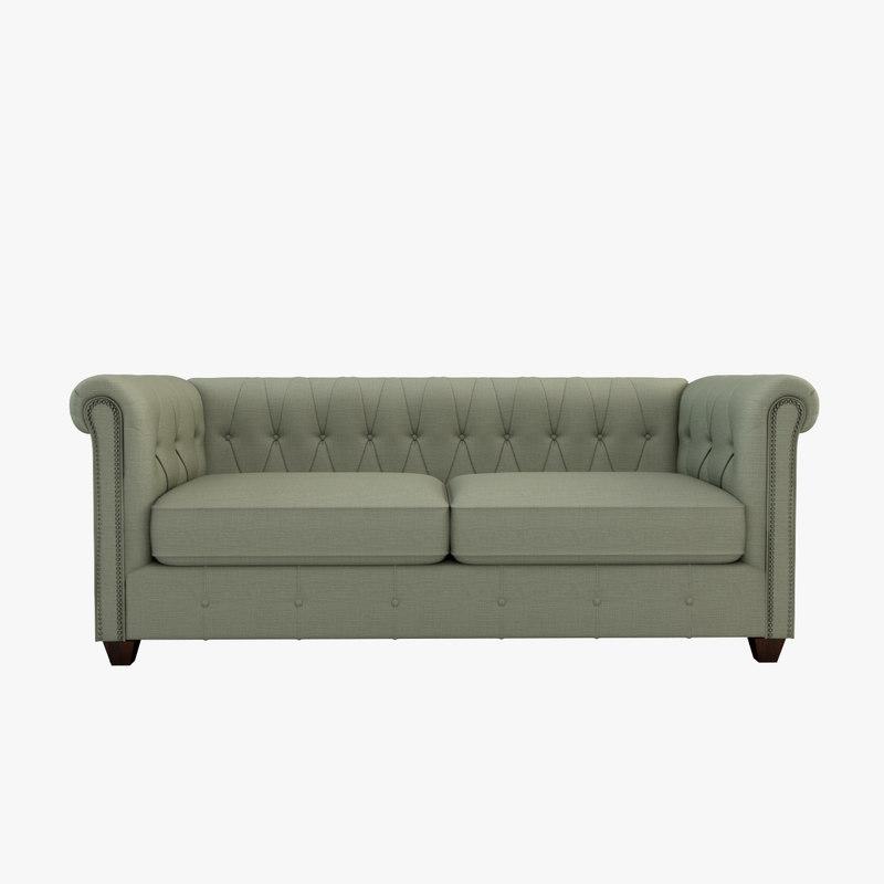 hawthorn sofa 3d model