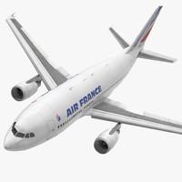 airbus a310-300 air france 3d max