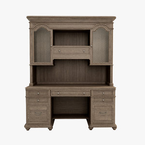 3d westgrove desk hutch
