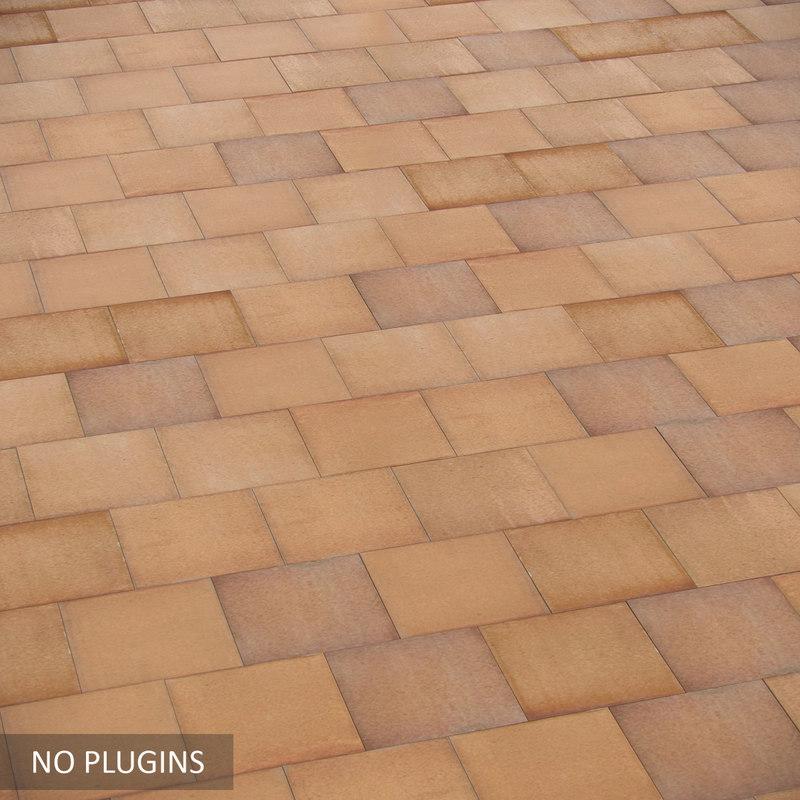 realistic tile 3ds