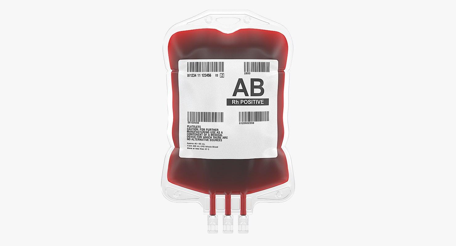 3d Max Blood Bag