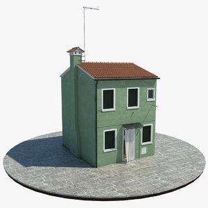 3d venetian house
