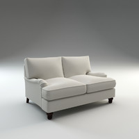 montgomery loveseat seat 3d model