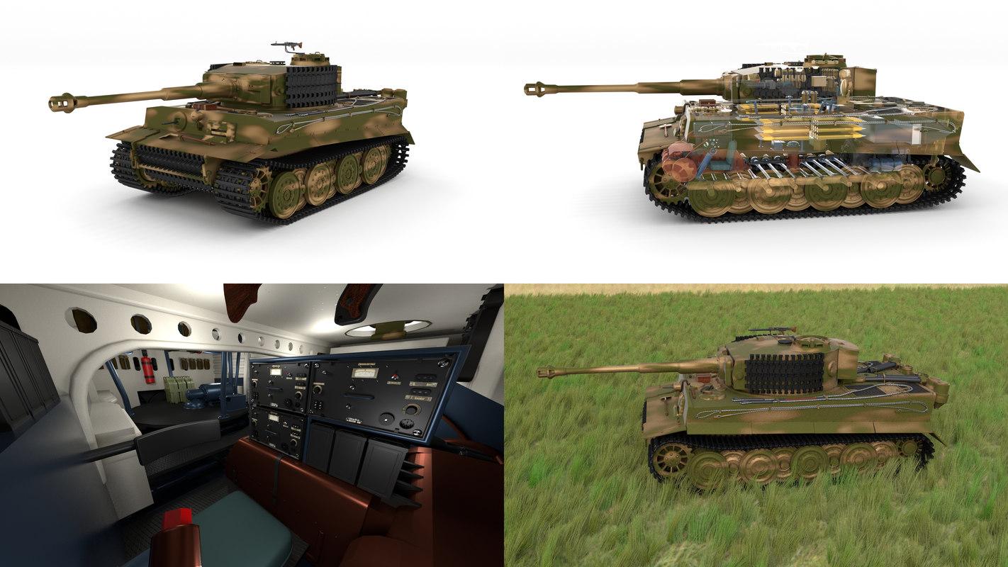 3d built tiger e late model