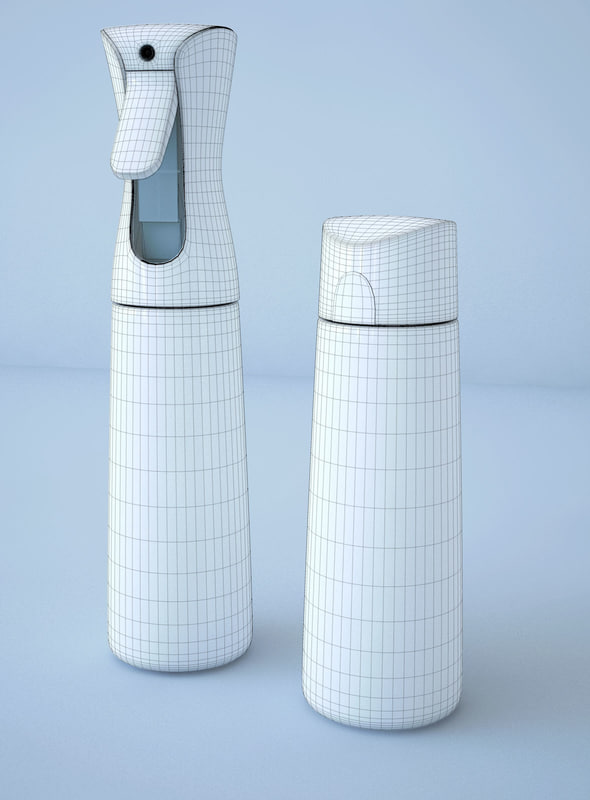 flairosol bottle 3d model