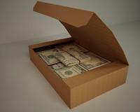 paper box 3d model